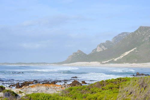 Western Cape, Waves Crashing