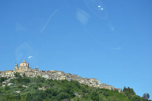 Houses on the Hills in Rome, Italy, Landscape