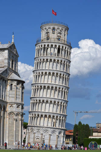 Nature, Landscape and architecture of Pisa, Italy