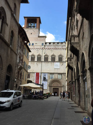 Nature, Landscape and architecture of Perugia
