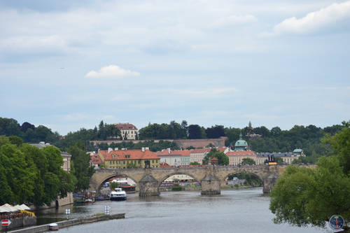 Nature, Landscape and architecture of Prague, Czech Republic
