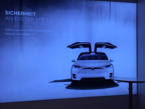 Tesla Model S Poster, Vehicle
