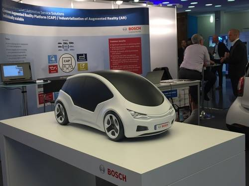 Bosch Electric Car, Vehicle