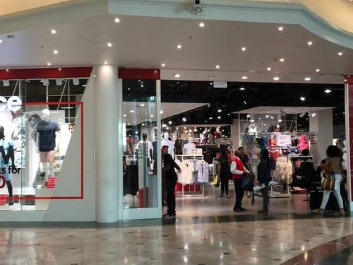 Storefront of Mr Price, Cape Town, South Africa