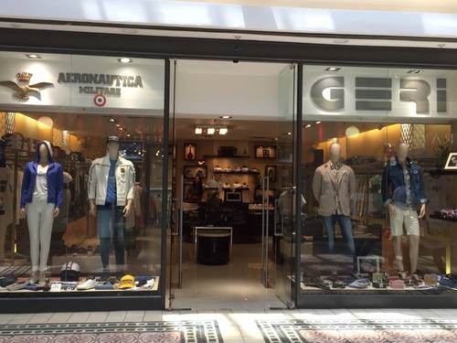 Show Window and Storefront of Aeronautica Militare at V & A Waterfront