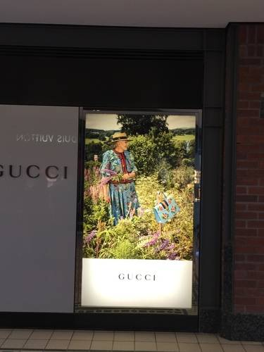 GUCCI's Digital Show Window at V & A Waterfront, Cape Town