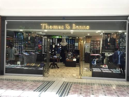 Storefront and Show Window of Thomas & Benno at V & A Waterfront Mall