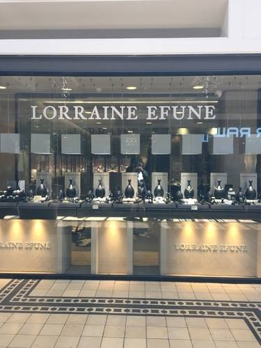 LORRAINE EFUNE Show Window with Magical Jewellery at V & A Waterfront, SA