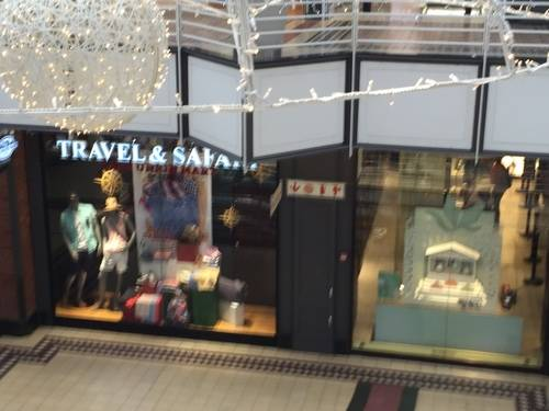 Travel & Safari Show Window at V & A Waterfront Mall