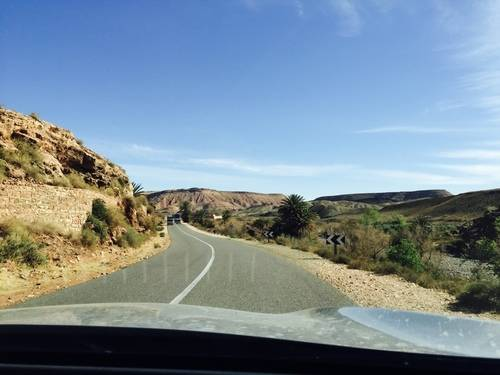 A Beautiful Road in Souss-Massa-Draa