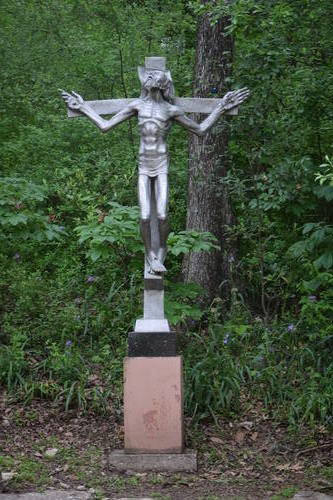UMLAUF Sculpture - Crucifixion