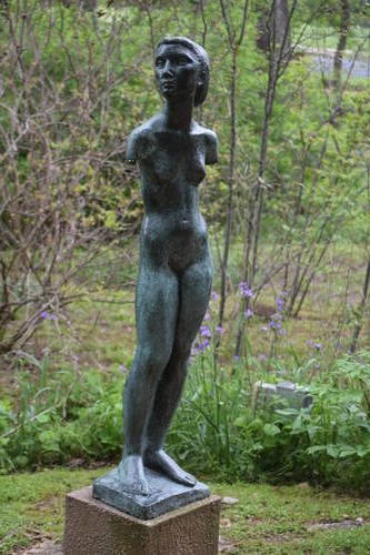 UMLAUF Sculpture - Young Girl