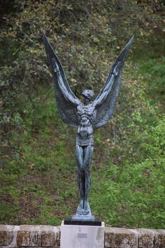UMLAUF Sculpture - Spirit of Flight