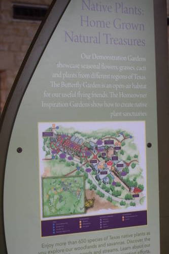 Lady Bird Johnson Wildflower Center - Map and some helpful information