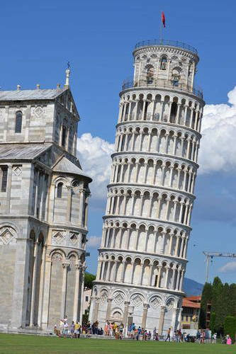 "A Snapshot of the ""Leaning Tower of Pisa"""