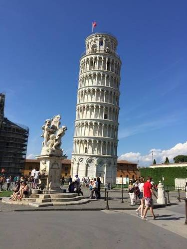 "A Photo of the ""Leaning Tower of Pisa"""