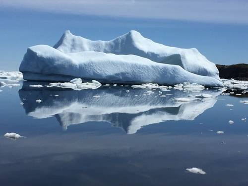 Iceberg and its Reflection