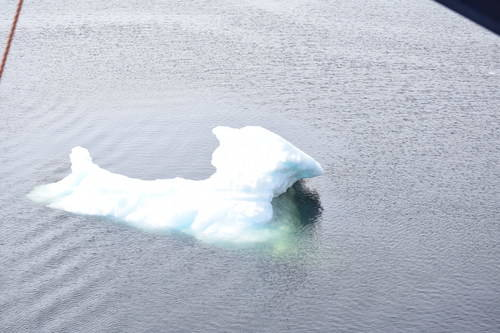 Small Iceberg Close Up in Newfoundland