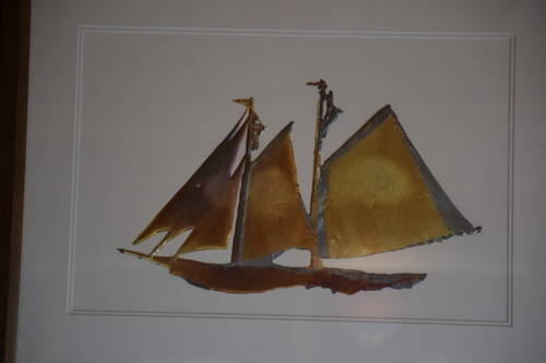 Painting of sail boats