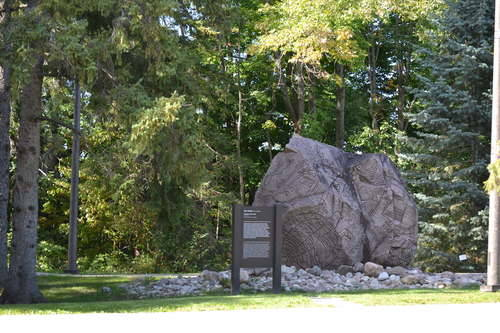 Engraved Rock, McMichael Canadian Art Collection