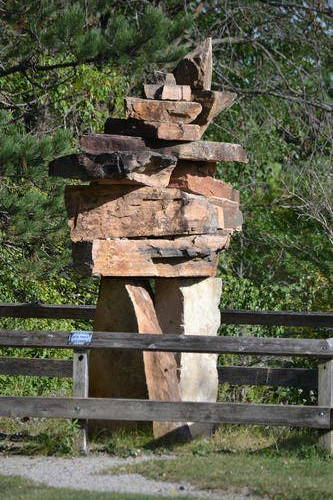Rock Inukshuk, McMichael Canadian Art Collection