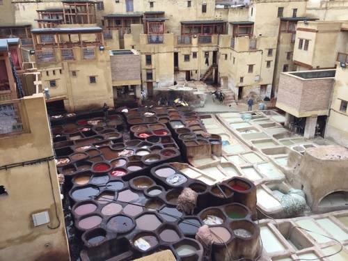 Water Tubs, Morocco`