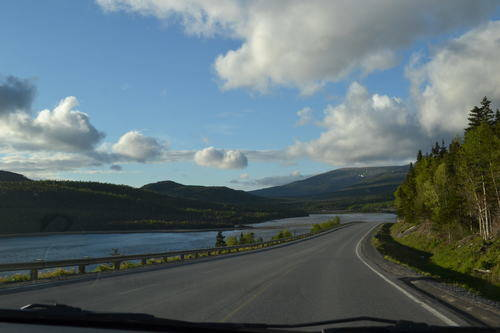 Driving Roads by the Water of Rocky Harbour, NewfoundLand & Labrador, Canada, Landscape