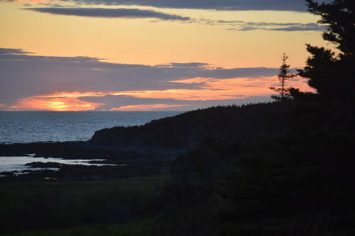 Amazing Sunset & Landscape at Rocky Harbour, Newfoundland and Labrador, Canada