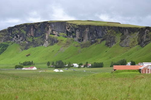 Grassy Mountains, Iceland