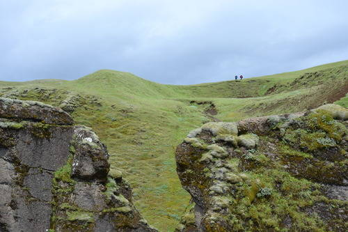 Grassy Mountains of Iceland, Landscape
