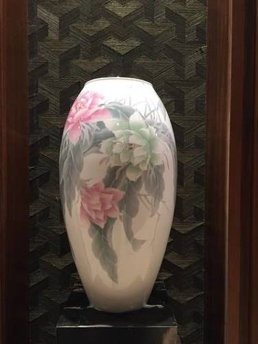 Flower Design on a Vase at the Royal Ontario Museum, Artifact