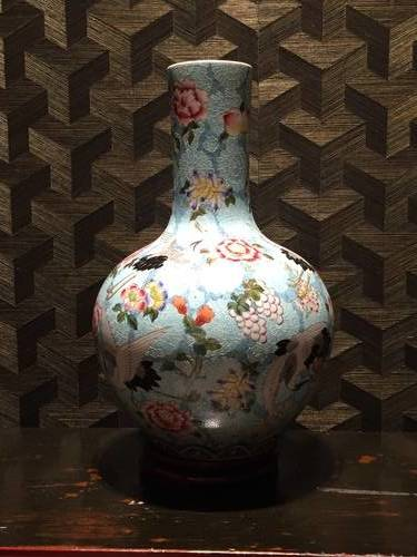 Colourful Vase at the Royal Ontario Museum, Artifact