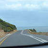 Road near the sea