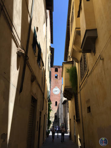 Nature, Landscape and architecture of Larciano and Lucca, Italy