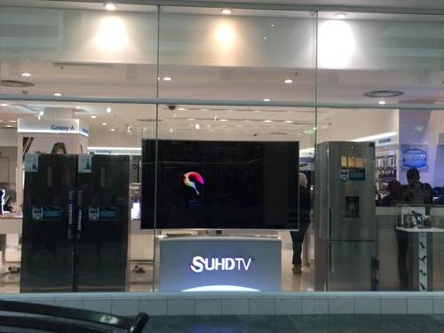 Samsung's Show Window in Milnerton, South Africa
