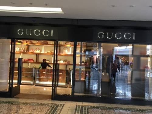 GUCCI's Storefront and Show Window at Victoria & Alfred Waterfront Mall