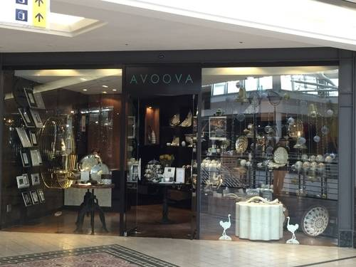 AVOOVA's Show Window with Luxury African Gifts at V & A Waterfront Mall