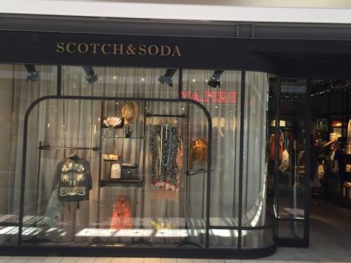 A Show Window by Scotch&Soda at V & A Waterfront Mall
