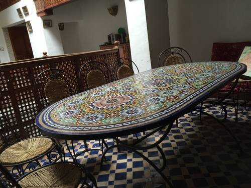 Dinning Table, Morocco