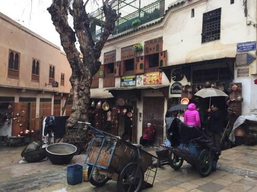 The outside stores of Morocco