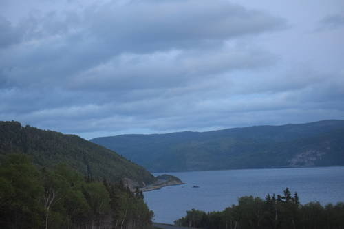 Cloudy Night Sky's in Rocky Harbour, Newfoundland and Labrador, Canada